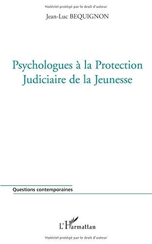 Psychologues à la Protection Judiciaire de la Jeunesse