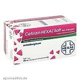 Cetirizin Hexal Saft B. Allergien 150ml