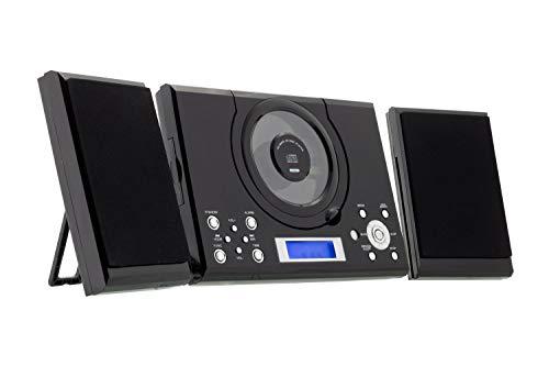 ROXX Stereoanlage mit CD-Player, Radio, Kopfhöreranschluß und AUX MC201