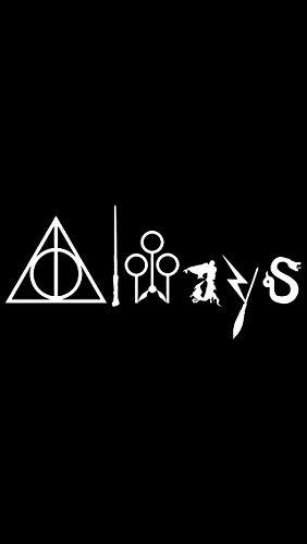 Preisvergleich Produktbild Immer Harry Potter weiß Auto-/Laptop/Fenster/Wand Vinyl Aufkleber