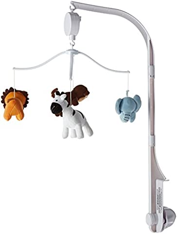 Lambs & Ivy Bedtime Originals Mobile, mit Musik, Dschungeltiere