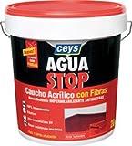 Ceys m92284Reifendichtmittel Aquastop Kautschuk aus Acryl mit Fasern grau 1kg