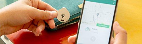 TrackR TB002RG Bravo Bluetooth verknüpfte Aufspührer für Apple iPhone/Android rosegold Abbildung 2