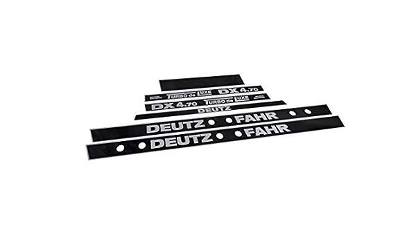 Generisch Deutz Fahr Dx 4 70 Turbo De Luxe Decals Set Auto