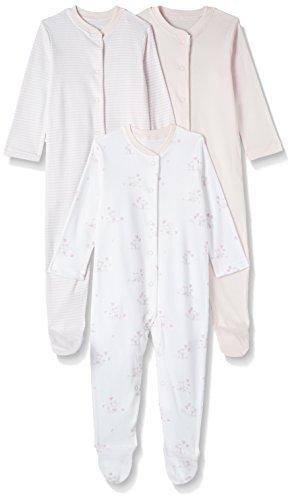 Mothercare Baby-Mädchen Zweiteiliger Schlafanzug 3 Pack, (Pink 130), 68