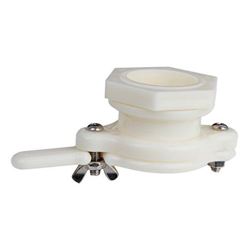 1Pc 38mm Plastic Honey Gate Valve Extracting Bottling Tool White Test