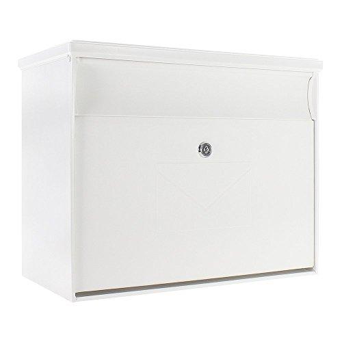 Rottner Kunststoff-Briefkasten Toronto, weiß, T04575