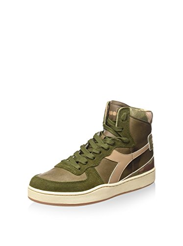 Diadora Mi Basket Camo, Unisex Adults' Shoes CAMO/VERT/BEIGE
