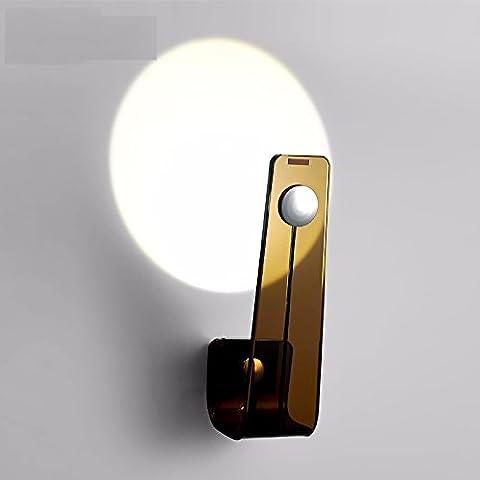 Winson Moderno e minimalista corridoio luci a parete camera da letto posto letto lampada sulle scale tra la parete in vetro fari a led - Vento Rilevatore