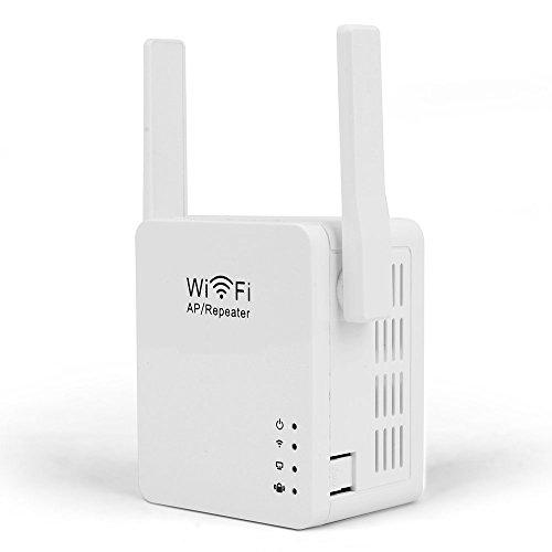 Wireless Repeater, WOSUK Wireless-N Wifi-Repeater Mit Mikro USB aufladenhafen WLAN 802.11n / b / g Netzwerk Router Range Expander 300m 2dbi Antennen Signal Booster