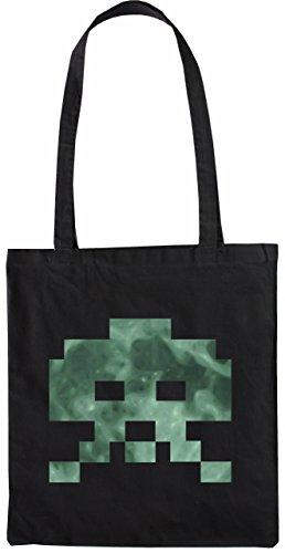 Mister Merchandise Bag Invasori Attacco Sacchetto Di Stoffa, Colore: Nero Nero