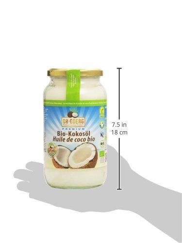 Dr. Goerg Premium Bio-Kokosöl - 1000 ml - 3