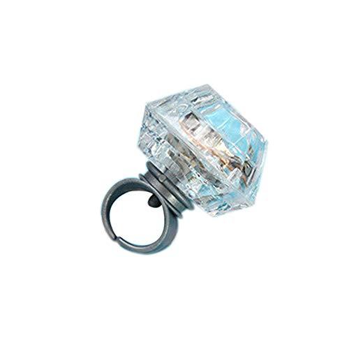 ed Licht Ring Glow Night Glow Spielzeug Geeignet für Kinder Erwachsene Neuheit Kreative Leucht Ring Vergnügungsspielzeug ()