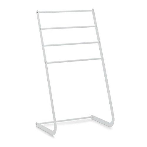 Preisvergleich Produktbild Zeller 18714 Handtuchständer,  Metall,  weiß,  ca. 46 x 31, 5 x 82 cm
