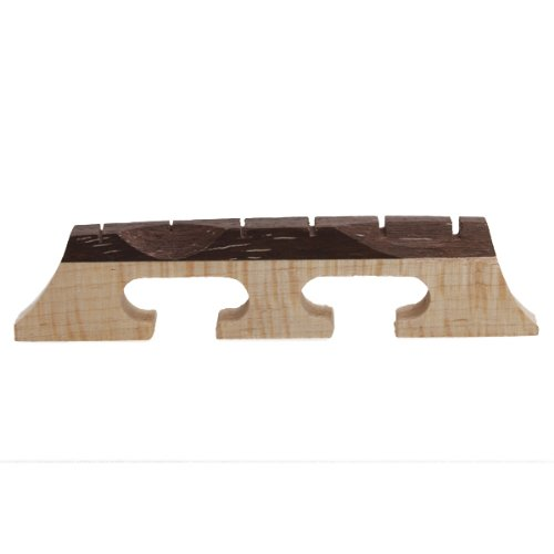 6-String Ahorn Banjo Brücke Mit Rosenholz Gitarre Banjo Bridge 21/32 Inch
