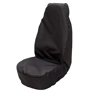 Globtex Werkstattsitzbezug mit Taschen. Universal Schonbezug Nylon.