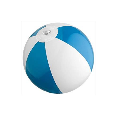 3 x mini Wasserball / Strandball für Kinder - BLAU - Urlaub Strand Spiel Freizeit Spass - 3 X 3 Mini