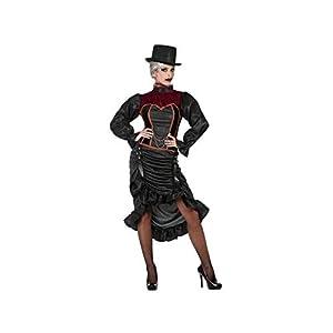 Atosa-55472 Atosa-55472-Disfraz Vampiresa para mujer adulto-talla M-L morado, color (55472)