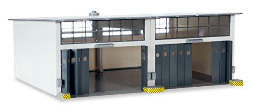 Herpa 745857-Vehículo, Military: Edificios Montar Reparación Halle Grande, de 2Constantemente, Ancho 220mm x Profundidad 190mm x Altura 85mm