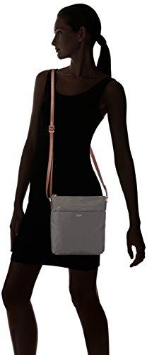 Joop! nylon DIA - shoulder bag small, Sacs bandoulière Grau (802)