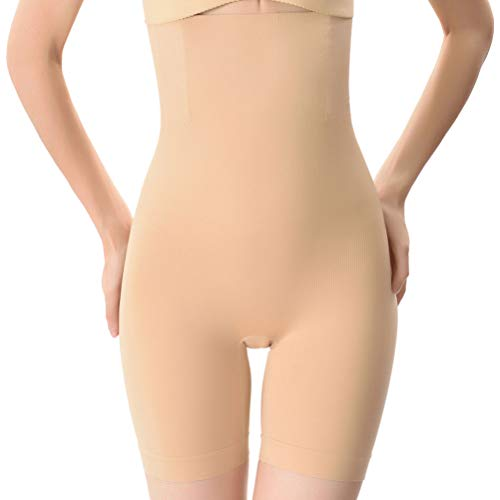 aacd21e7f Everbellus Shapewear Pants Shapewear Buttocks Body Reducers Panty High Waist  for Woman Beige Medium