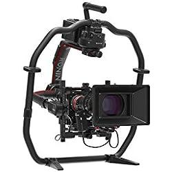 DJI Ronin 2 - Pack de soporte y estabilizador profesional para videocámaras (soporta cámaras de hasta 14 kg, GPS incorporado, control de precisión) color negro