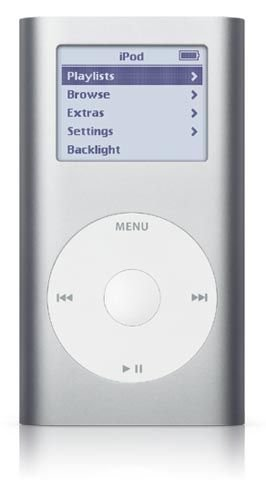 Apple iPod mini MP3-Player 4GB Silver