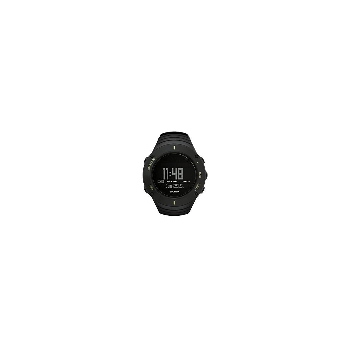 3134CpgAeOL. SS1200  - Suunto SS021371000 Core - Reloj de exterior para todas las altitudes, sumergible (30 m), con altímetro, barómetro, Negro (Ultimate Black)