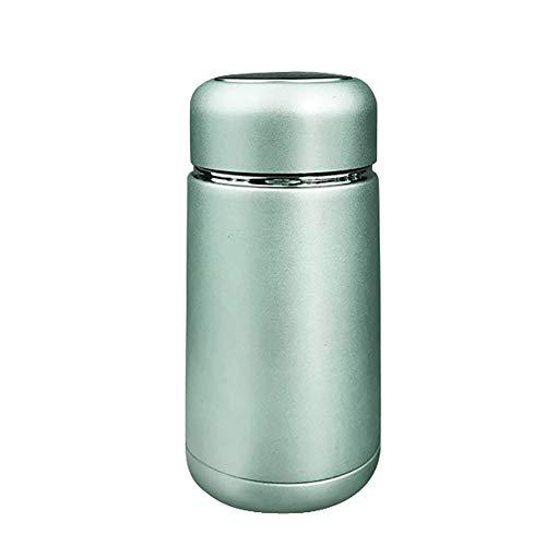 ENticerowts 300 ml Isolierbecher Vakuumflasche aus Edelstahl Reisetrinkflasche Wasserflasche Wiederverwendbar leicht zu reinigen mit Netzfilter für Tee