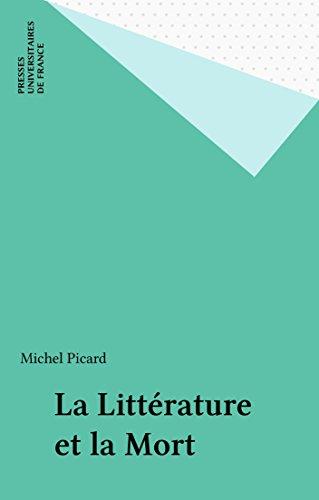 La Littérature et la Mort