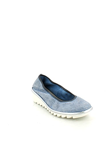 THE FLEXX Danseuses chaussures coin A206 / 22 A DRAME MEL CELESTE Denim