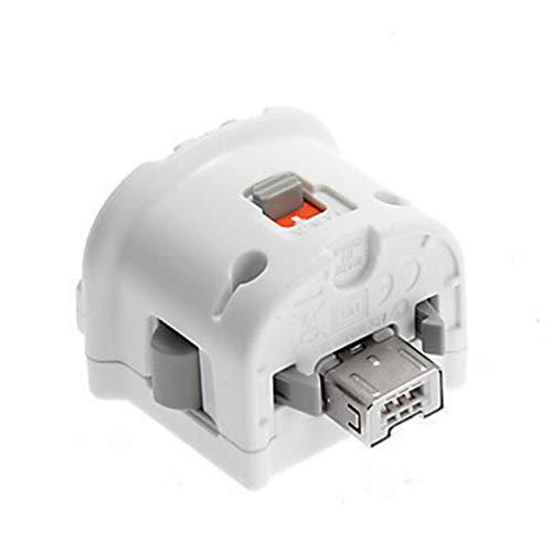 Motion Plus Adapter Sensor für Nintendo Wii Konsole, kabellos, Wiimote-Controller, Schwarz / Weiß (Wii Motion Plus Schwarz)