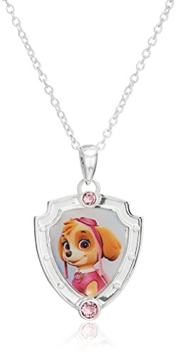 paw-patrol-nickelodeon-girls-paw-patrol-silver-plated-brass-skye-shield-pendant-necklace-18