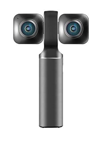 Vuze VUZE-XR-BLK Taschen-Camcorder, 5,7 Megapixel, 360° Linse, Schwarz