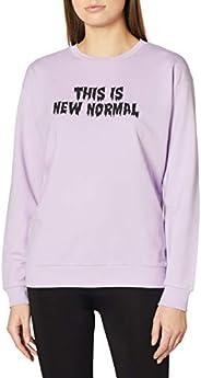 DeFacto Yazı Baskılı Oversize Sweatshirt Sweatshirt Kadın