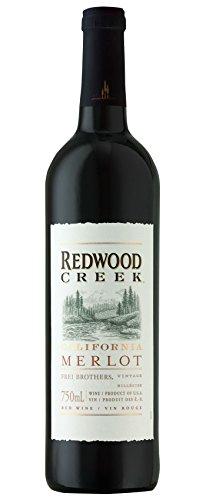 gallo merlot 6x 0,75l - 2015er - Redwood Creek - Merlot - Kalifornien - Rotwein trocken