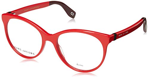 Marc Jacobs Brille (MARC-350 C9A) Acetate Kunststoff rot