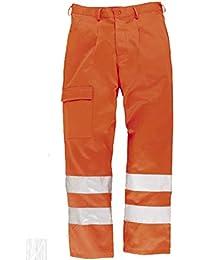C.B.F. Balducci Pantaloni da Lavoro Alta visibilità (HV) - EN 20471 Classe 2 2155512ba4e