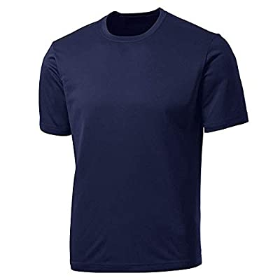 aoli ray Mens Gym T Shirts Sport Quick Dry Short Sleeved Traning Workout Running Tops Sportswear by Aoli Ray