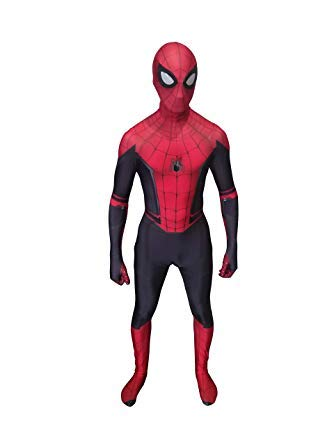 Spider-Man Far from Home Cosplay Costume (S Size)