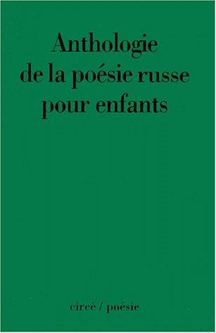 Anthologie de la poésie russe pour enfants - Edition bilingue Français-Russe par Abril