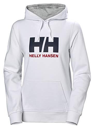 Helly Hansen Damen W Hh Logo Hoodie Kapuzenpullover, Weiß (Blanco 001), Small Logo Hoodie Weiß