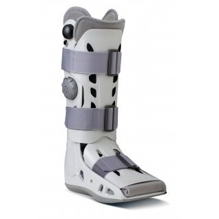 Aircast AirSelect Elite Walker Boot for Foot Injuries - Pneumatic Compression - Durable Shell Support