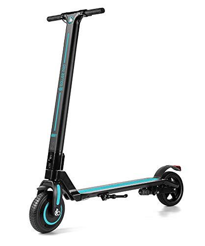 Roller Pro RP-URBAN4TQ Elektro-Scooter, Brushless Motor 250 W, MAX. Geschwindigkeit 24 km/h, faltbar, inkl. App, Lithium-Batterie, Türkis, 4.0 A -