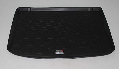 SIXTOL Auto Kofferraumschutz für die Renault Clio IV Hatchback Maßgeschneiderte antirutsch Kofferraumwanne für den sicheren Transport von Einkauf, Gepäck und Haustier