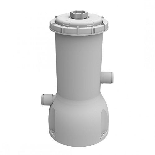 Jilong Piscine Filtre de Pompe 1000 Gallon, Filtre à Cartouche avec Volume de 3785 L/H Pump, Gris, 20 x 20 x 41 CM, 29p417de