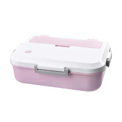 Moocevill - Lunch Box BPA Free Umweltfreundliche Nahrungsmittelbehälter mit Geschirr Microwavable Bento Box für Kinder Schule für Erwachsene Büro Picknick [Rosa] (Planetbox-lunch-box)