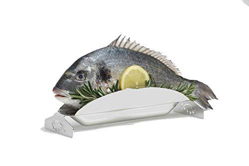 5-Sterne-Fisch.com, 1 Fischgrillhalter aus Edelstahl, 100{9bf5c1e01cf0529923625bf3d9e320a19c148c8ddd4077aa3e0f242a695ab7c7} Germany, Neu und UVP!