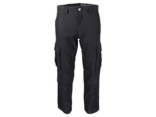 Rokker Motorrad Jeans Motorradhose Motorradjeans Black Jack Jeans schwarz 32/36, Herren, Chopper/Cruiser, Ganzjährig, Textil