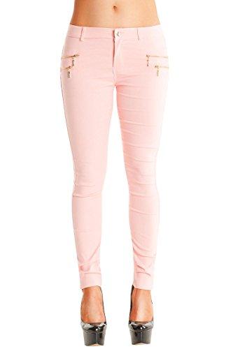 Danaest -  Jeans  - skinny - Basic - Donna Rosa M/44